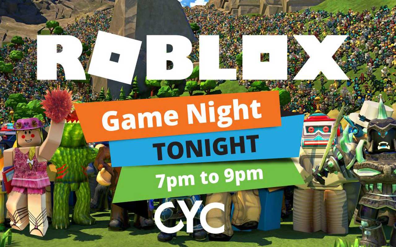 Roblox Game Night - Roblox Game Night Collingwood Youth Centre